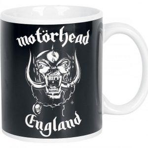 Motörhead England Muki Valkoinen