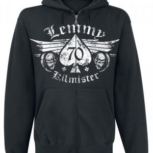 Motörhead Lemmy Forever Vetoketjuhuppari