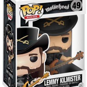Motörhead Lemmy Kilmister Rocks Vinyl Figure 49 Funko Pop! Vinyyliä