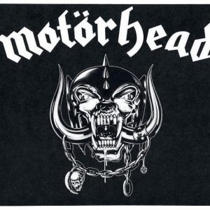 Motörhead Logo Aamiaislauta Melamiinia / Litteää Laminaattia