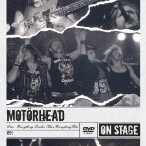 Motörhead Motörhead Live: Everything Louder Than Everything DVD
