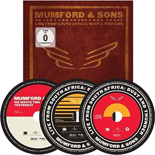 Mumford & Sons Live In South Africa: Dust And Thunder Blu-Ray