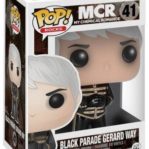 My Chemical Romance Black Parade Gerard Way Rocks Vinyl Figure 41 Funko Pop! Vinyyliä