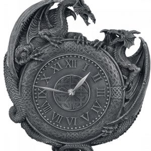 Nemesis Now Dragon Duel Wall Clock Seinäkello