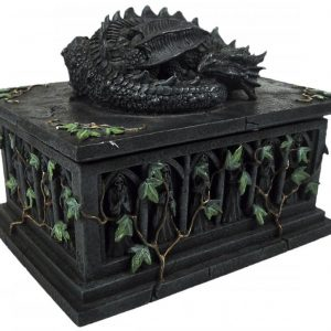 Nemesis Now Dragon Tarot Card Box Koristeartikkeli