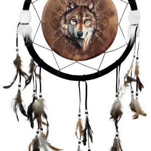 Nemesis Now Dreamcatcher Lone Wolf Unisieppari