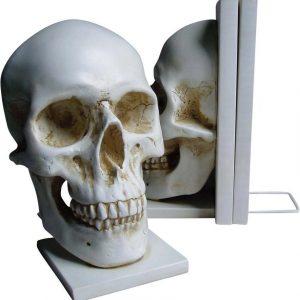 Nemesis Now Skull Bookends Kirjatuki