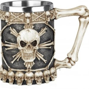 Nemesis Now Tankard Of Skulls Olutmuki