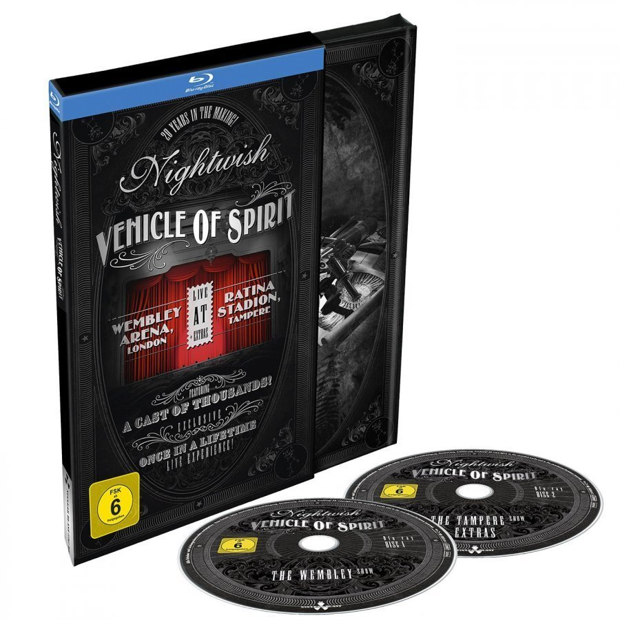 Nightwish Vehicle Of Spirit Blu-Ray