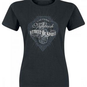 Nightwish Vos Black & White Naisten T-paita