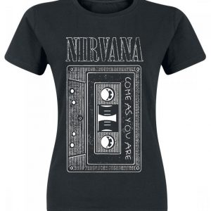 Nirvana As You Are Tape T-paita