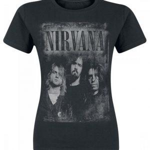Nirvana Faded Faces T-paita