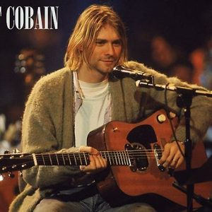 Nirvana Kurt Cobain Unplugged Juliste Paperia