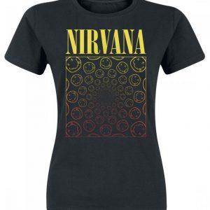 Nirvana Spiral Smiley T-paita