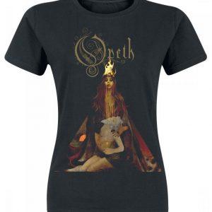 Opeth Firewoman Naisten T-paita