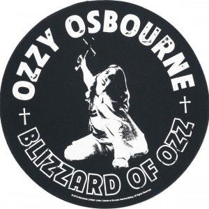Ozzy Osbourne Blizzard Of Ozz Selkälippu Musta