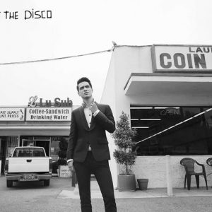 Panic! At The Disco Brandon Laundromat Juliste Musta-Valkoinen
