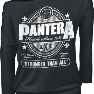 Pantera Stronger Than All Pitkähihainen Paita