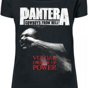 Pantera Vulgar Display Of Power T-paita