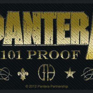 Pantera Whiskey Label Kangasmerkki 100% Polyesteria