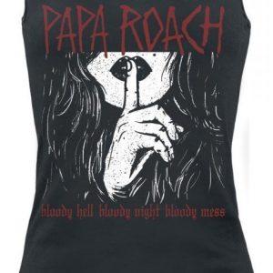 Papa Roach Bloody Hell Naisten Toppi