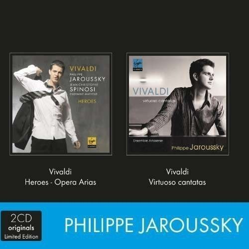 Philippe Jaroussky - Coffret Vivaldi Heroes Cantate