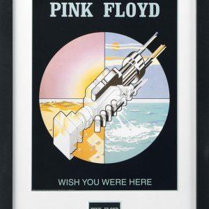 Pink Floyd Wish You Were Here Kehystetty Kuva Muovia