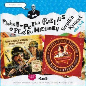 Pirkka-Pekka Petelius & Pedro Hietanen - Serpien Kylässä 3 & 4 (4CD)