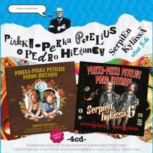 Pirkka-Pekka Petelius & Pedro Hietanen - Serpien Kylässä 5 & 6 (4CD)