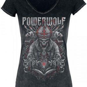 Powerwolf Dark Priest Naisten T-paita