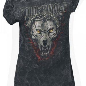 Powerwolf Icon Wolf Naisten T-paita