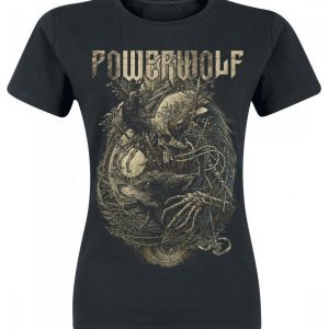 Powerwolf Skeleton T-paita