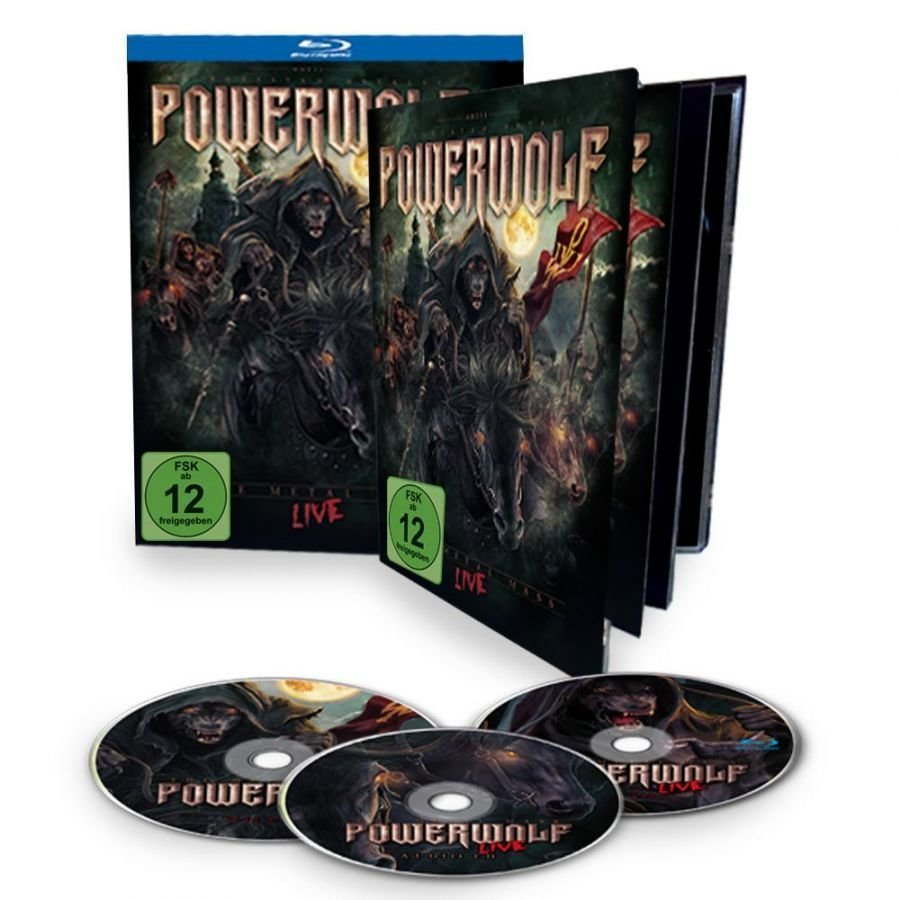 Powerwolf The Metal Mass Live Blu-Ray