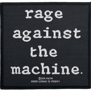Rage Against The Machine Logo Kangasmerkki 100% Polyesteria