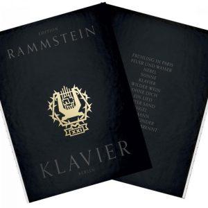 Rammstein Xxi Notenbuch Klavier (Rammstein Edition 2015) Rammstein
