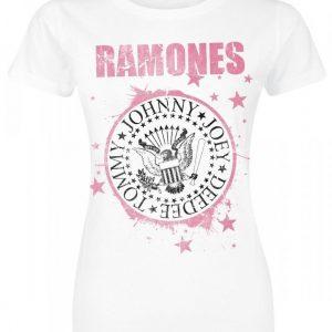 Ramones Pink Star T-paita