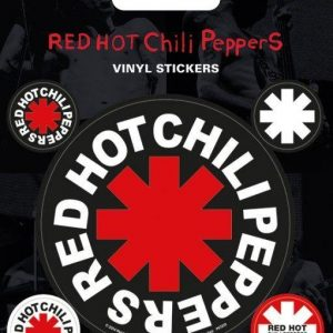 Red Hot Chili Peppers Logo Tarrasetti Vinyyliä