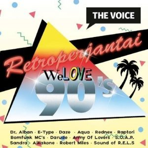 Retroperjantai - We Love 90's (2CD)