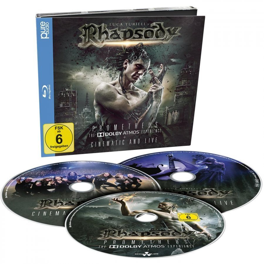 Rhapsody Prometheus The Dolby Atmos Experience Blu-Ray