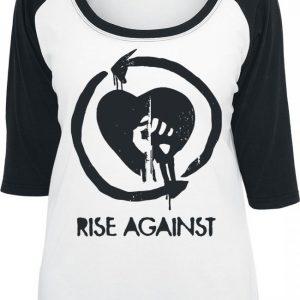 Rise Against Heart Fist Pitkähihainen Paita