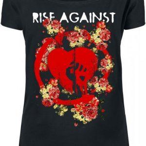 Rise Against Roses T-paita