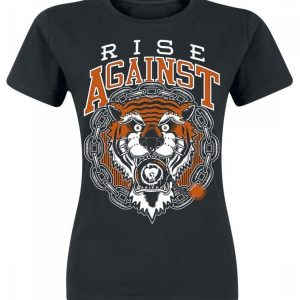 Rise Against Tiger Bomb T-paita