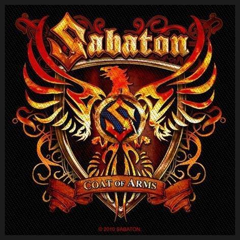 Sabaton Coat Of Arms Kangasmerkki 100% Polyesteria