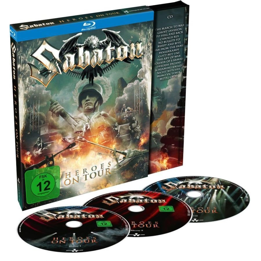 Sabaton Heroes On Tour Blu-Ray
