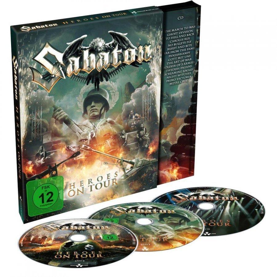 Sabaton Heroes On Tour DVD