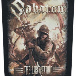 Sabaton The Last Stand Selkälippu 100% Polyesteria