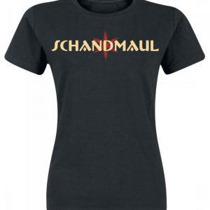 Schandmaul Red Jolly Naisten T-paita