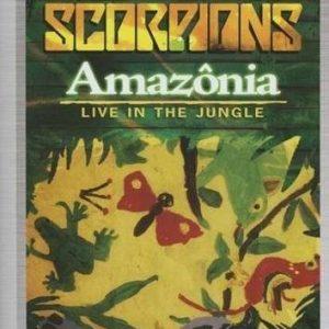Scorpions Amazonia Live In The Jungle DVD