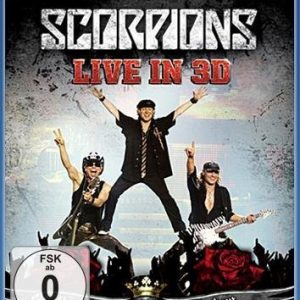 Scorpions Get Your Sting And Blackout: Live 2011 In 3d Blu-Ray