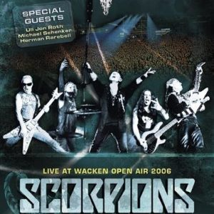 Scorpions Live At Wacken 2006 DVD